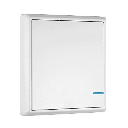 KKmoon Transmisor de Interruptor Inalámbrico Control Remoto Impermeable para Iluminación de Casa...