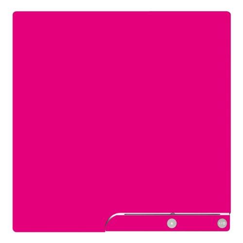 Skin-rosa Controller Ps3 (Disagu Design Skin for Sony PS3 Slim + Controller - motif