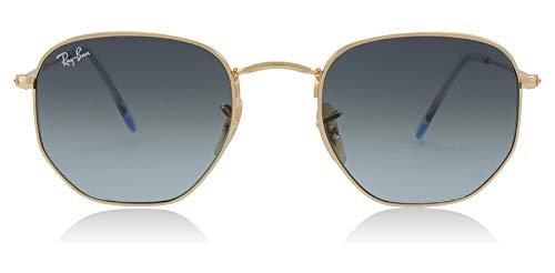 Ray-Ban Unisex-Erwachsene 0RB3548N Sonnenbrille, Schwarz (Gold), 50.0