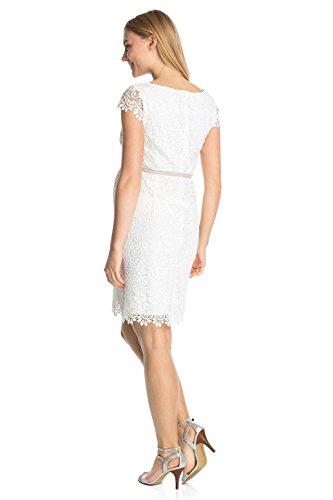 ESPRIT Maternity Damen Umstandskleid Dress woven ss Off White