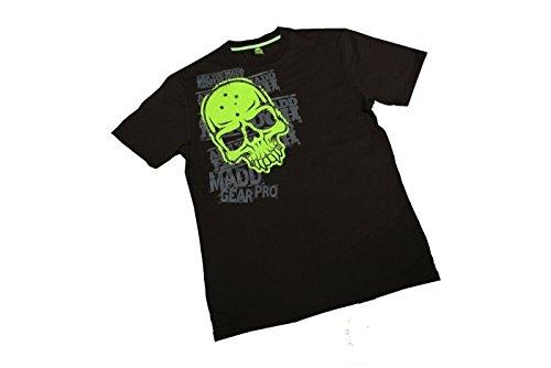 Madd Gear Corpo T-shirt Tête de mort-Noir/Vert