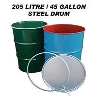 Keto Plastics Steel Barrel (205 Litres)