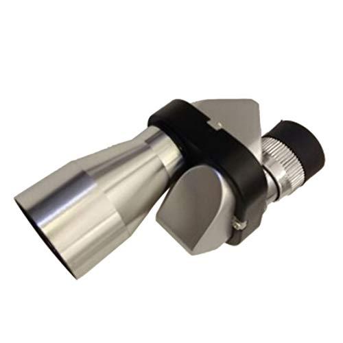 Vige Mini-Tasche 8X 20 Silber Metall monokulare Teleskopokulares Outdoor Sports Camping Wandern - Blau