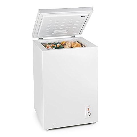 Congelateur Coffre Classe A+ - Klarstein Iceblook Congélateur coffre (autonome, volume 100L,