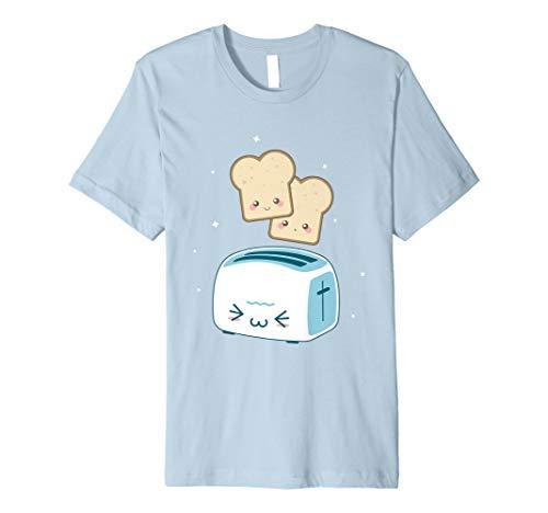 Toast kawaii Kleidung T Shirt-Anime Zeichnen