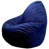 Altmark-Design Sitzsack XL Mikrofaser Blau/Navy / incl. Inlett - preisvergleich