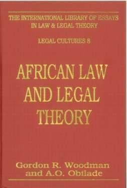 African Law and Legal Theory PDF Books