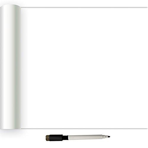 nuwallpaper nu2497Dry Erase schälen und Stick Tapete, Weiß/Creme (Schälen Und Stick-white Board)