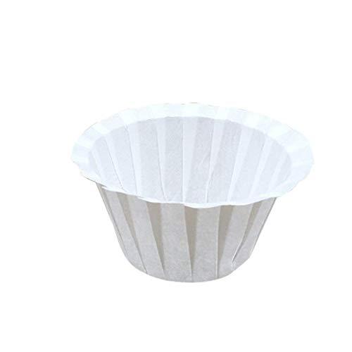 NIUQY Tägliches Freizeit Wesentliches Kaffee Filter Pappbecher Einweg Pappbecher Kcup Lebensmittelqualität Cup Form 100 STÜCKE Haltbares Sicherheit Kit Dienstprogramm-Gadget
