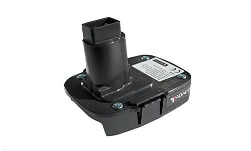 Batterieadapter für DeWALT XRP Elektrowerkzeuge 18V bis 20V, Battery adapter for DeWALT XRP power tools 18v to 20v