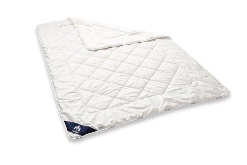 Badenia 03633050140 Bettcomfort Steppbett Irisette Merino wash leicht, 135 x 200 cm, weiß