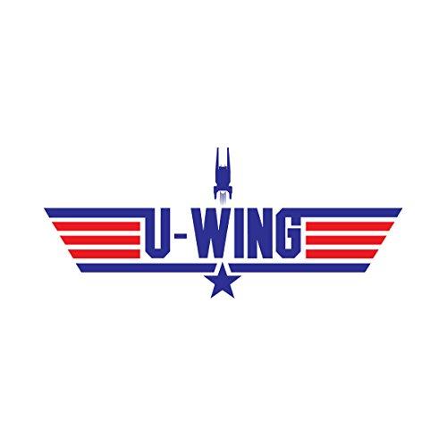 Star Wars Rogue One U Wing Top Gun Logo Men's Vest White