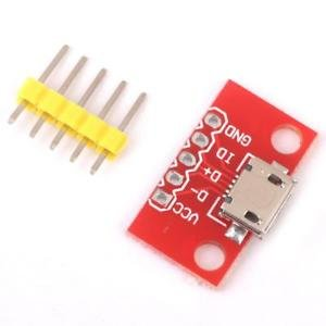 ELECTROPRIME® Mobile Phone Charger Convert Power Module Micro-B USB Board for Android OS