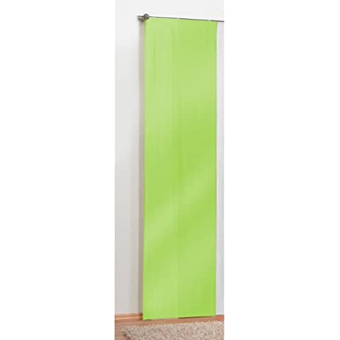 Tenda a pannello tenda scorrevole, colore: verde