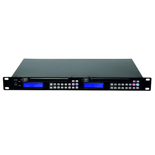 Omnitronic 11045004 DMP-202 Dual-USB-CD-Player