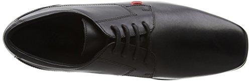 Kickers Vintner Lace, Chaussures à Lacets Homme Noir - Noir