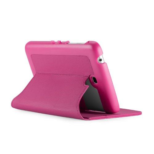 Speck SPK-A2325 FitFolio Raspberry Pink Vegan Leder Hardcase für Samsung Galaxy Tab 3 7.0