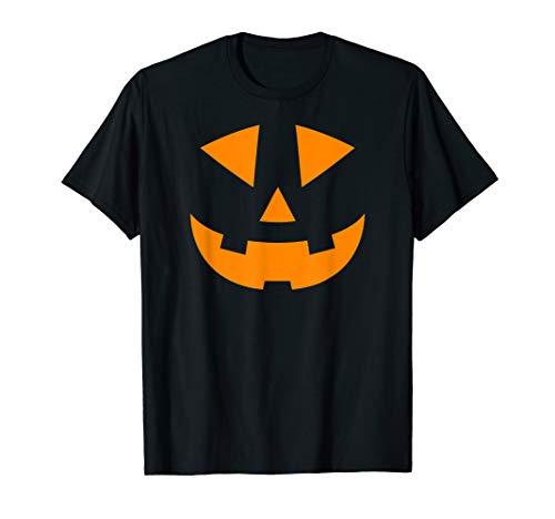 aterne Halloween-Kürbis in Orange T-Shirt ()