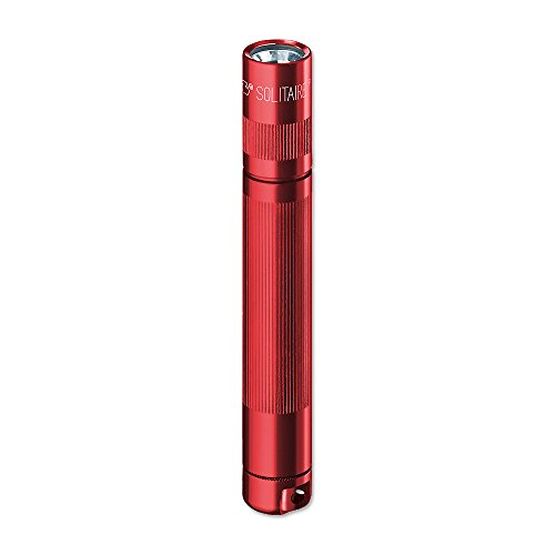 Mag-Lite Solitaire Mini-Taschenlampe, 8 cm, rot, K3A032