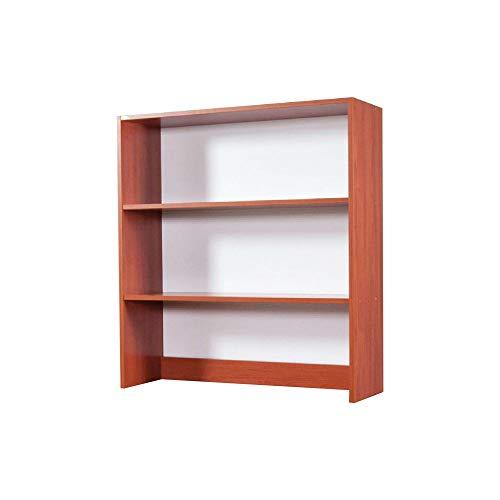 we point Libreria da Appoggio per Scrivania 2 Ripiani Ciliegio H.105x90x29cm