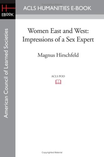 Women East and West: Impressions of a Sex Expert