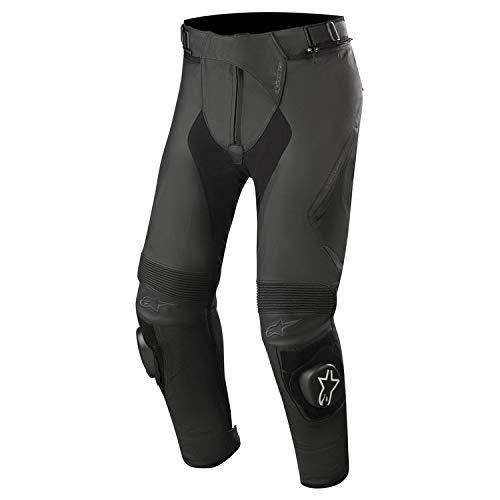 Alpinestars Motorrad Lederhose Missile V2 Pants Herren Motorradhose, 46 Kurz