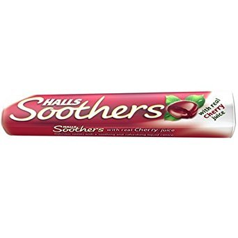 Halls Schnuller Cherry Flavour mit Real Juice Pack Of 20x45g Tubes