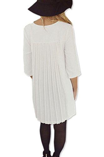 Lose Minirock Kleid für Damen Black