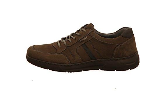 Waldläufer 365002-691-052, Chaussures À Lacets Grau Pour Hommes