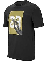 8daae5bce60 Jordan Men's T-Shirt Black Black Medium