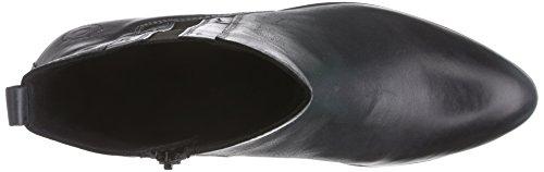 Bugatti V53371 Damen Halbschaft Stiefel Schwarz (schwarz 100)