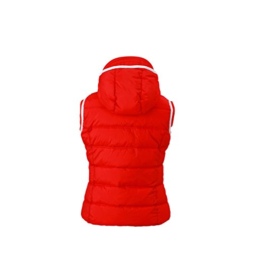 JAMES & NICHOLSON -  Gilet  - Basic - Donna Rosso