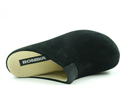 Romika 74604-28 Gomera 04 Pantofole Donna Schwarz