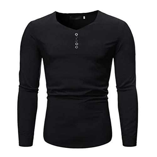 VBWER Herren Langarm Patchwork Hoodie Sweatshirt Tops Jacke Mantel Outwear