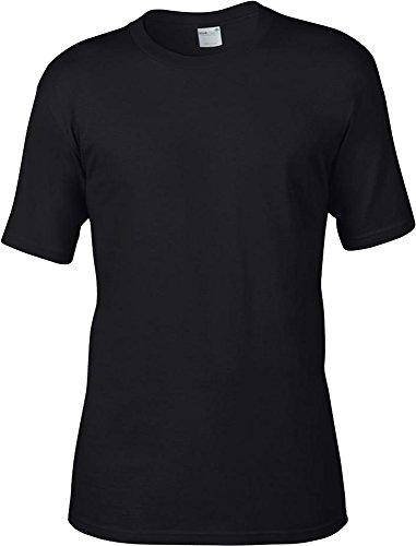 Anvil Herren T-Shirt Rot - Rot