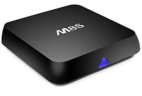 Mesigu Elektronische TV-Box M8S Amlogic S812 Android 4.4.2 Quad Core Smart TV-Box 2G / 8G XBMC-Streaming-Media-Player Blurtooth 4.0 WiFi Full HD-TV-Box Fernsehmelder