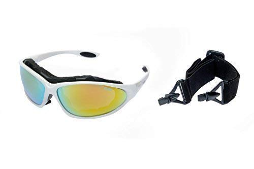Ravs Schutzbrille Sportbrille Sonnenbrille Angeln Fischen Polarisierende Gläser Beauty & Gesundheit