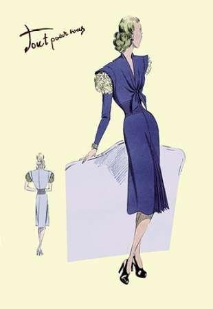 Leinwand Falten Anzug (Feeling at Home Feelingathome-Leinwand-Bild-Kleid,-Anzug-mit-Falten,-1947-cm50x33-Kunstdruck-auf-Leinwand)