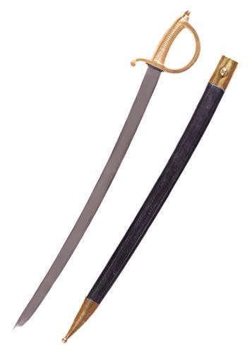Battle-Merchant Französischer Säbel Infanteriesäbel Modell Briquet Pirat echt Erwachsene Piratensäbel Hochwertiges Schwert