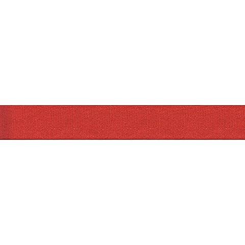 Offray rosso-Grosgrain Glitz-5/8