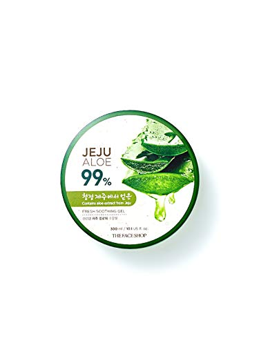 The Face Shop Jeju Aloe Fresh Soothing Gel 300Ml Aloe 99% (The Face Shop Oil Body)