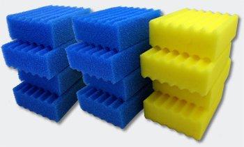 SunSun Ersatzteil CBF-350C Bio Teichfilter Komplettset Filterschwämme