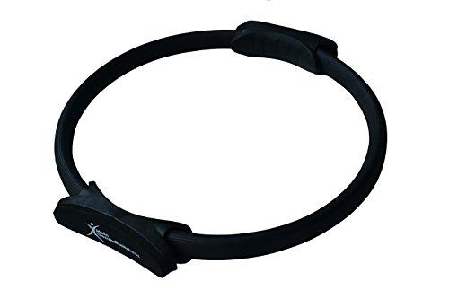 Pilates Ring 38cm schwarz mit anatomischen Polstern