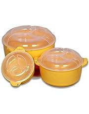 Regalo Serving Casserole Bowl Set -3 Pots