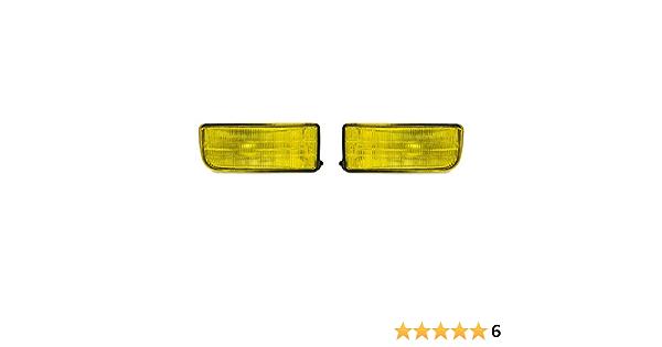 Jom Car Parts Car Hifi Gmbh Fog Light Set Yellow Clear Glass Auto