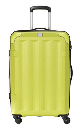 Travelite Corner 4 Rollen Hartschalenkoffer, 67 cm, 73 L, Limone