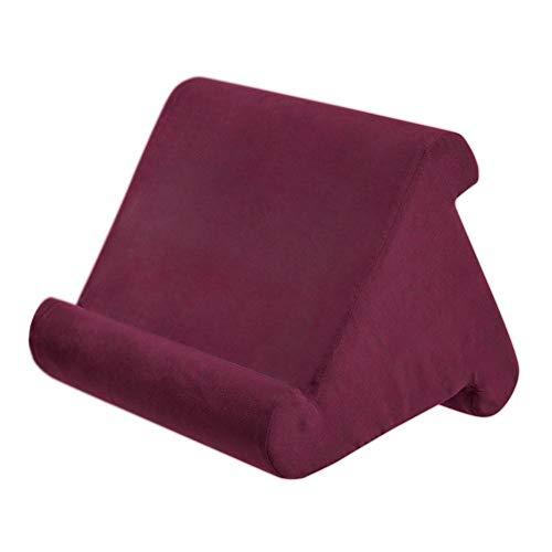 Multi-Angle Soft Pillow Pad Ständer für Tablet (Schwarz, Saphir, Grau, Blau, Weinrot)