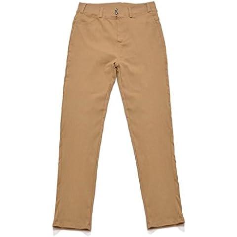 Pantalón Legging Pantalones De Lápiz Polainas De Elástico Apretado para Mujer Chica