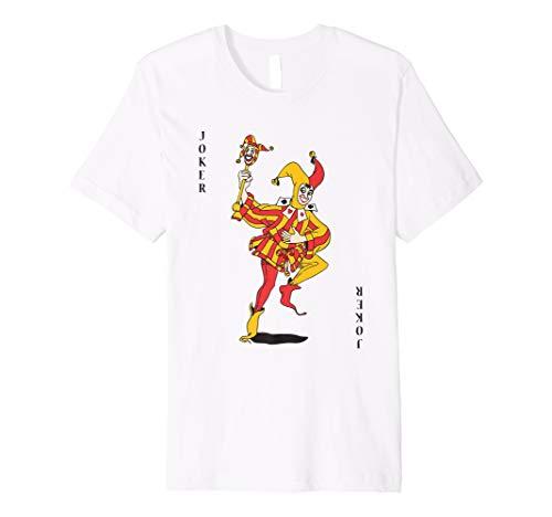 Joker Spielkarte Hemd Halloween Kostüm T Shirt Deck Karten