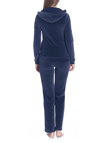 Bellybutton Damen Umstands Strickjacke Loungewear-Jacke 11348-80825 Blau (night blue 41400)